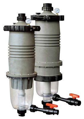 Rk2 ponds rk2 systems multicyclone filters for Multi chamber filter systems for ponds